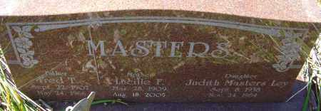 MASTERS, FRED T - Franklin County, Ohio | FRED T MASTERS - Ohio Gravestone Photos