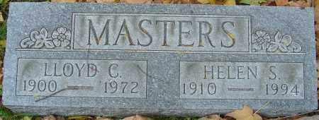 MASTERS, LLOYD C - Franklin County, Ohio | LLOYD C MASTERS - Ohio Gravestone Photos