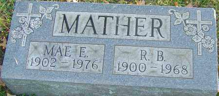 MATHER, R B - Franklin County, Ohio   R B MATHER - Ohio Gravestone Photos