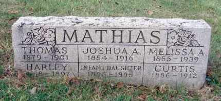 MATHIAS, HARLEY - Franklin County, Ohio | HARLEY MATHIAS - Ohio Gravestone Photos