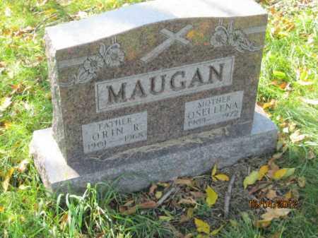 ANNON MAUGAN, OSELLENA - Franklin County, Ohio | OSELLENA ANNON MAUGAN - Ohio Gravestone Photos