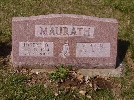 MAURATH, JOSEPH O. - Franklin County, Ohio | JOSEPH O. MAURATH - Ohio Gravestone Photos