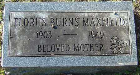 MAXFIELD, FLORUS - Franklin County, Ohio | FLORUS MAXFIELD - Ohio Gravestone Photos