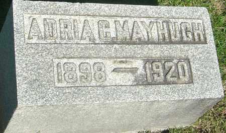 MAYHUGH, ADRIA CLARKE - Franklin County, Ohio   ADRIA CLARKE MAYHUGH - Ohio Gravestone Photos
