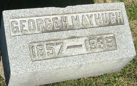 MAYHUGH, GEORGE H - Franklin County, Ohio | GEORGE H MAYHUGH - Ohio Gravestone Photos