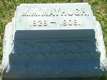 MAYHUGH, MARGARET MELISSA - Franklin County, Ohio | MARGARET MELISSA MAYHUGH - Ohio Gravestone Photos