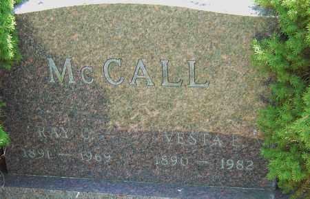 MCCALL, VESTA E - Franklin County, Ohio | VESTA E MCCALL - Ohio Gravestone Photos