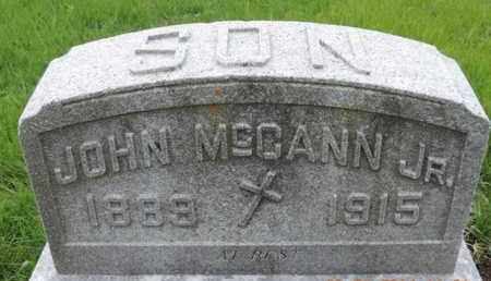 MCCANN, JOHN - Franklin County, Ohio | JOHN MCCANN - Ohio Gravestone Photos