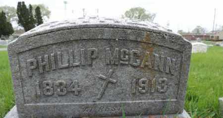 MCCANN, PHILLIP - Franklin County, Ohio | PHILLIP MCCANN - Ohio Gravestone Photos