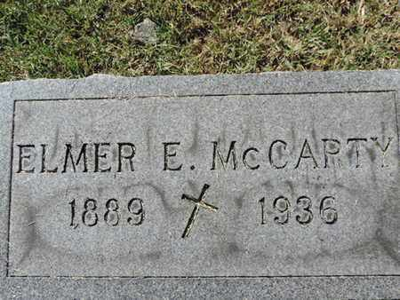 MCCAPTY, ELMER E - Franklin County, Ohio | ELMER E MCCAPTY - Ohio Gravestone Photos