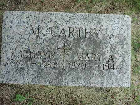 MCCARTHY, KATHRYN - Franklin County, Ohio | KATHRYN MCCARTHY - Ohio Gravestone Photos