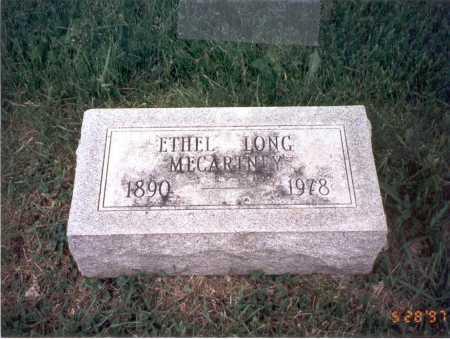 MCCARTNEY, ETHEL - Franklin County, Ohio | ETHEL MCCARTNEY - Ohio Gravestone Photos