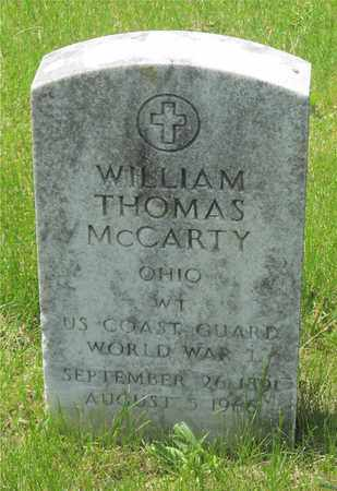MCCARTY, WILLIAM THOMAS - Franklin County, Ohio | WILLIAM THOMAS MCCARTY - Ohio Gravestone Photos