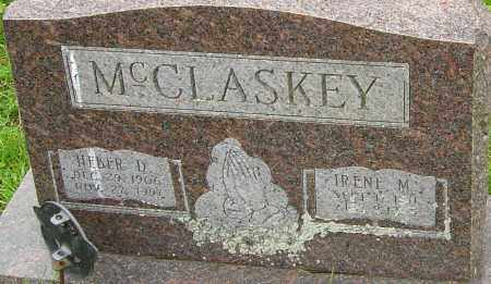 MCCLASKEY, HEBER - Franklin County, Ohio | HEBER MCCLASKEY - Ohio Gravestone Photos