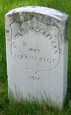 MCCLELLAND, JOHN F. - Franklin County, Ohio | JOHN F. MCCLELLAND - Ohio Gravestone Photos