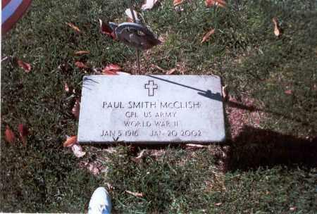 MCCLISH, PAUL SMITH - Franklin County, Ohio | PAUL SMITH MCCLISH - Ohio Gravestone Photos