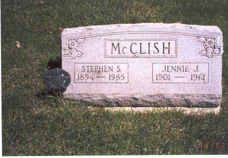 MORGAN MCCLISH, JENNIE J. - Franklin County, Ohio | JENNIE J. MORGAN MCCLISH - Ohio Gravestone Photos