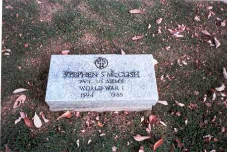 MCCLISH, STEPHEN S. - Franklin County, Ohio | STEPHEN S. MCCLISH - Ohio Gravestone Photos
