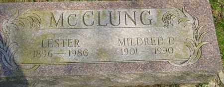 MCCLUNG, LESTER - Franklin County, Ohio | LESTER MCCLUNG - Ohio Gravestone Photos