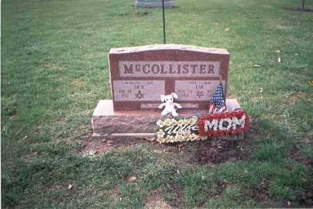 MCCOLLISTER, EVA - Franklin County, Ohio   EVA MCCOLLISTER - Ohio Gravestone Photos