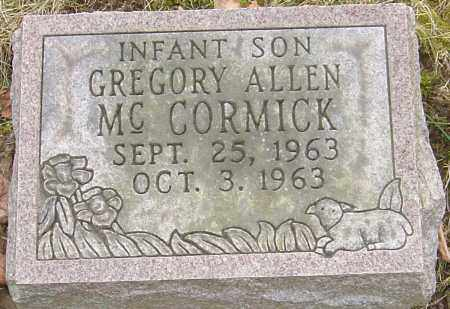 MCCORMICK, GREGORY ALLEN - Franklin County, Ohio | GREGORY ALLEN MCCORMICK - Ohio Gravestone Photos