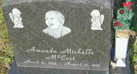 MCCORT, AMANDA - Franklin County, Ohio | AMANDA MCCORT - Ohio Gravestone Photos