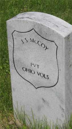 MCCOY, J.S. - Franklin County, Ohio | J.S. MCCOY - Ohio Gravestone Photos