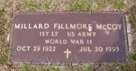 MCCOY, MILLARD FILLMORE - Franklin County, Ohio | MILLARD FILLMORE MCCOY - Ohio Gravestone Photos