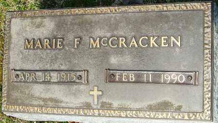 MCCRACKEN, MARIE F - Franklin County, Ohio | MARIE F MCCRACKEN - Ohio Gravestone Photos