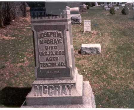 MCCRAY, JOSEPH M. - Franklin County, Ohio | JOSEPH M. MCCRAY - Ohio Gravestone Photos