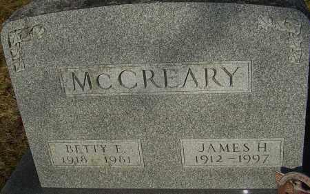 MCCREARY, JAMES H - Franklin County, Ohio | JAMES H MCCREARY - Ohio Gravestone Photos