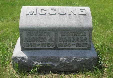 MCCUNE, BARBARA - Franklin County, Ohio | BARBARA MCCUNE - Ohio Gravestone Photos