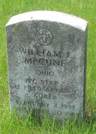 MCCUNE, WILLIAM L. - Franklin County, Ohio | WILLIAM L. MCCUNE - Ohio Gravestone Photos