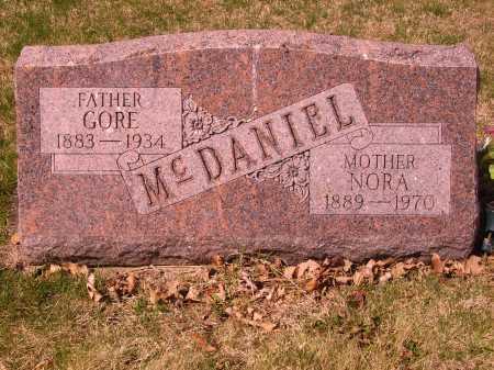 MCDANIEL, NORA - Franklin County, Ohio | NORA MCDANIEL - Ohio Gravestone Photos