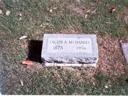 MCDANIEL, JACOB A. - Franklin County, Ohio | JACOB A. MCDANIEL - Ohio Gravestone Photos