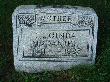 MCDANIEL, LUCINDA - Franklin County, Ohio | LUCINDA MCDANIEL - Ohio Gravestone Photos