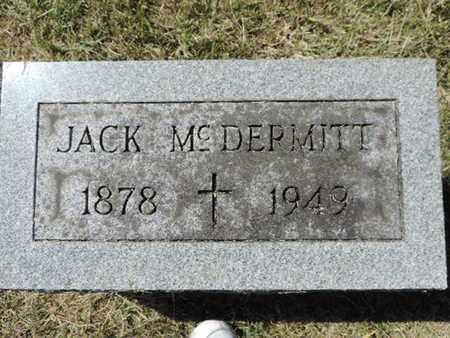 MCDERMITT, JACK - Franklin County, Ohio   JACK MCDERMITT - Ohio Gravestone Photos