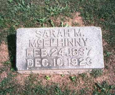 JOHNSTON MCELHINNY, SARAH M. - Franklin County, Ohio | SARAH M. JOHNSTON MCELHINNY - Ohio Gravestone Photos