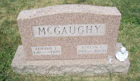 LEE MCGAUGHY, EVELYN CARTER - Franklin County, Ohio | EVELYN CARTER LEE MCGAUGHY - Ohio Gravestone Photos
