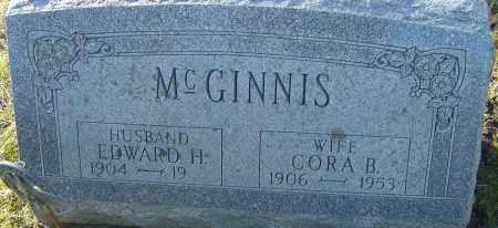 MCGINNIS, EDWARD H - Franklin County, Ohio | EDWARD H MCGINNIS - Ohio Gravestone Photos