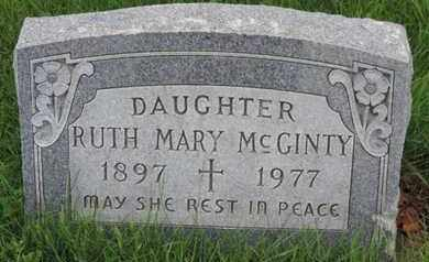MCGINTY, RUTH MARY - Franklin County, Ohio | RUTH MARY MCGINTY - Ohio Gravestone Photos