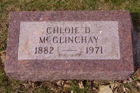 MCGLINCHAY, CHLOIE D. - Franklin County, Ohio   CHLOIE D. MCGLINCHAY - Ohio Gravestone Photos