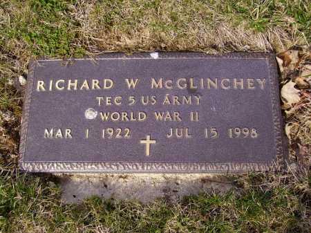 MC GLINCHEY, RICHARD W. - MILITARY - Franklin County, Ohio | RICHARD W. - MILITARY MC GLINCHEY - Ohio Gravestone Photos