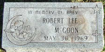 MCGOON, ROBERT LEE - Franklin County, Ohio   ROBERT LEE MCGOON - Ohio Gravestone Photos