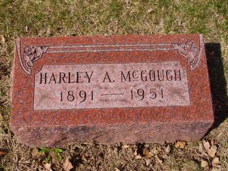 MCGOUGH, HARLEY A. - Franklin County, Ohio | HARLEY A. MCGOUGH - Ohio Gravestone Photos