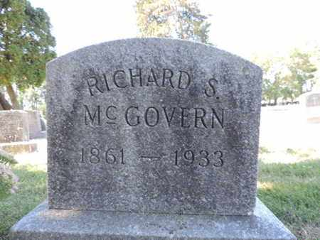 MCGOVERN, RICHARD S. - Franklin County, Ohio | RICHARD S. MCGOVERN - Ohio Gravestone Photos