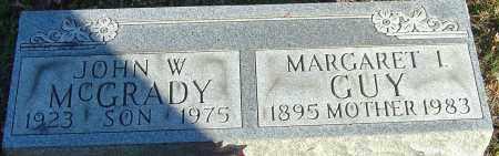 GUY, MARGARET I - Franklin County, Ohio | MARGARET I GUY - Ohio Gravestone Photos