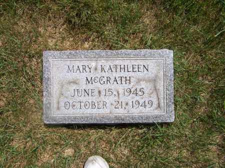 MCGRATH, MARY KATHLEEN - Franklin County, Ohio   MARY KATHLEEN MCGRATH - Ohio Gravestone Photos