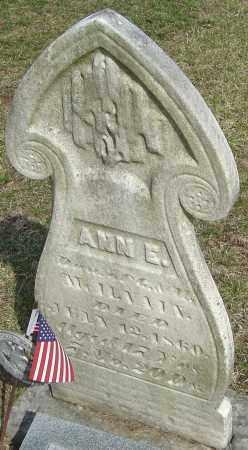 MCILVAIN, ANN E - Franklin County, Ohio | ANN E MCILVAIN - Ohio Gravestone Photos