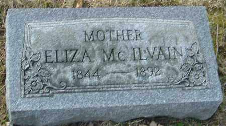 MCILVAIN, ELIZA - Franklin County, Ohio   ELIZA MCILVAIN - Ohio Gravestone Photos
